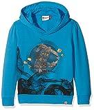 Legowear Boy's Lego Ninjago Skeet 610P-SWEATSHIRT Sweatshirt, Blue, 8 Years