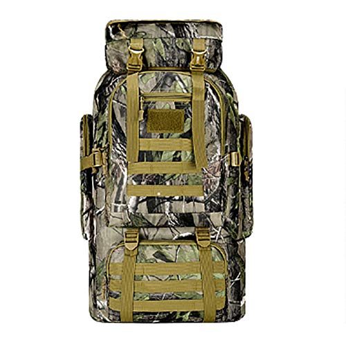 65 Liters Assault Hiking Backpack, Military Tactical Backpack Waterproof Backpack Outdoor Camping Hiking And Hunting D