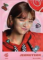 TWICE(トゥワイス )JEONG YEON ジョンヨン A4クリアファイル CAB 韓国 ap03