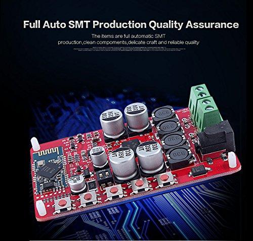 Zerone 25W + 25W TDA7492P Tablero del Amplificador de Bluetooth,...