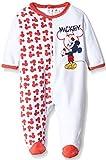 Disney Mickey Pelele para Dormir, Rojo (Red), 23 Meses para Niños...