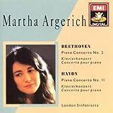 Argerich plays Beethoven Piano Concerto No. 2 Haydn Piano Concerto No. 11 (EMI Digital)