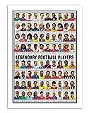 Wall Editions Art-Poster 50 x 70 cm - Legendary Football