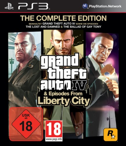 GTA IV : episodes from Liberty City - édition intégrale [import allemand]