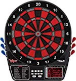 Viper 797 Electronic Dartboard, Black Silver And Red Segments, Quick Access To 301
