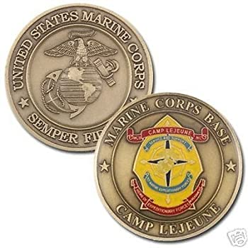 Coins For Anything Inc Camp Lejeune Marine Corps Base Coin