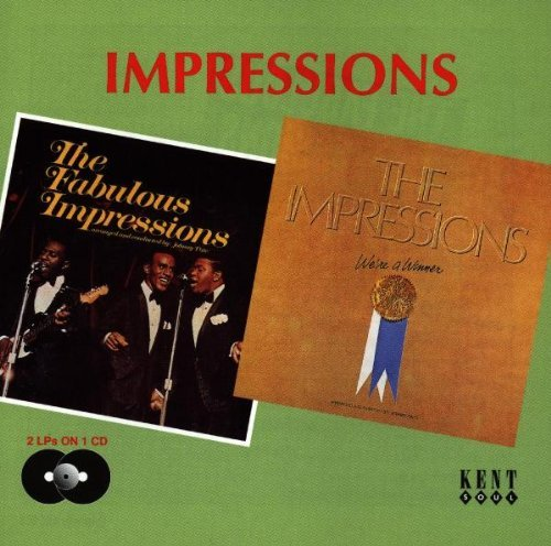 The Fabulous Impressions / We're A Winner by The Impressions (1998-09-29)