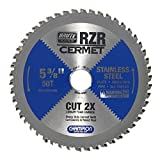 Champion Cutting Tool Corp Circular Saw Blade 5-3/8', 50T (RZR-538-50-ST)- Cut Stainless