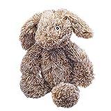 Peluche para Perros Gloria - Tamaño 30 cm - Peluche Conejo Gigante - Juguete para Perros - Peluche con Sonido - Textura Suave - Material Resistente - Color marrón Claro