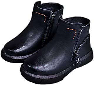 (チェリーレッド) CherryRed 子供靴 男の子 女の子 ジュニア ブーツ ショートブーツ 秋冬 防寒 耐磨 履きやすい 温かい 27