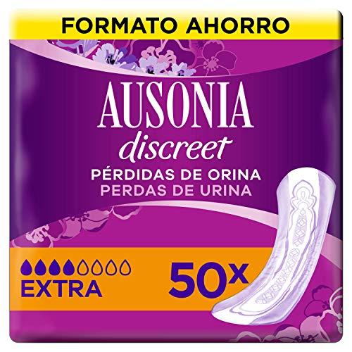 Ausonia Discreet Compresas Para Pérdidas De Orina Plus Extra Para Vejigas Hiperactivas x 50