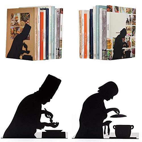 Kochen nach Vorschrift - Buchstützen für Küche