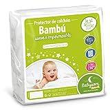 Babysom - Protector Colchón Cuna | Cubre Colchón Bebé - Bambú - 60x120 cm -...