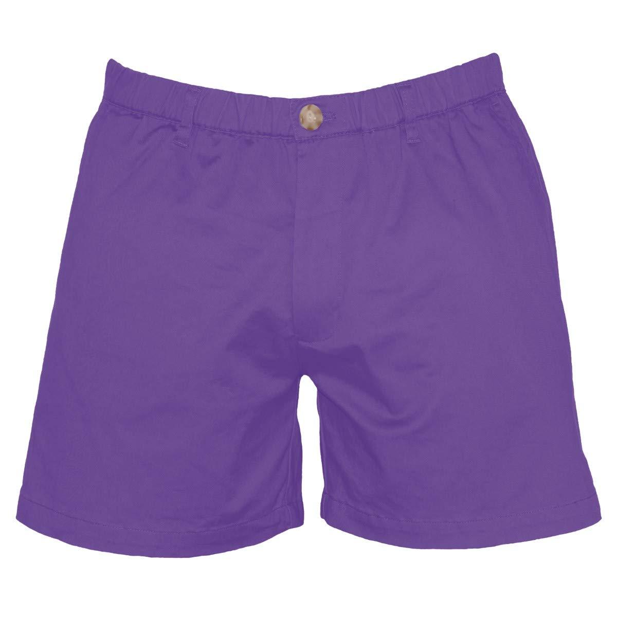 Meripex Apparel Mens 5.5 Inseam Elastic-Waist Short Shorts 4-Way Stretch