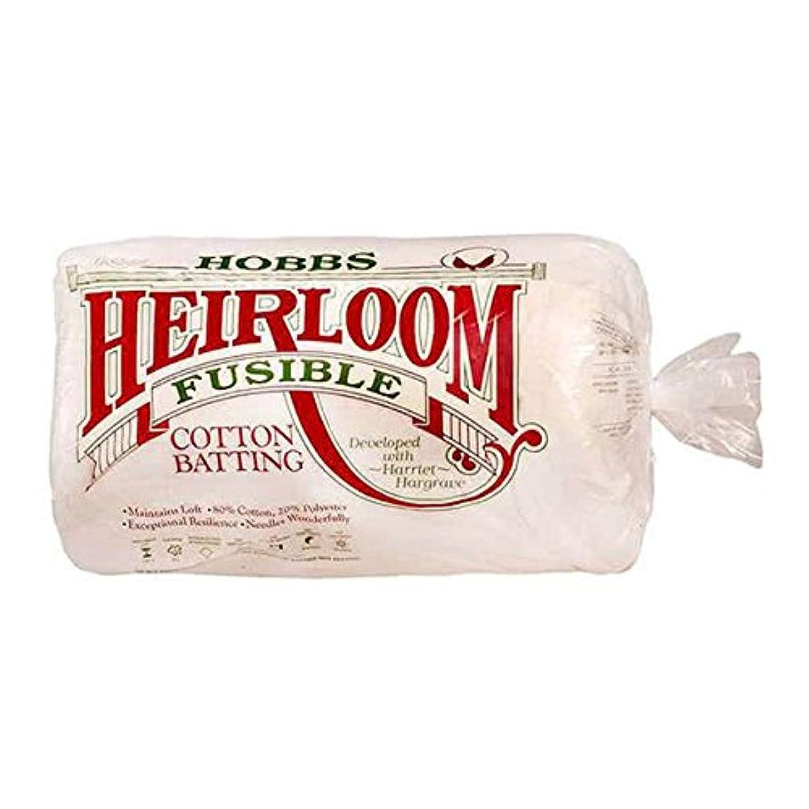 Hobbs HF90 Batting Heirloom Premium Fusible Cotton Blend, 90