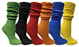 6 Pack Yacht & Smith Womens Cotton Slouch Socks, Womans...