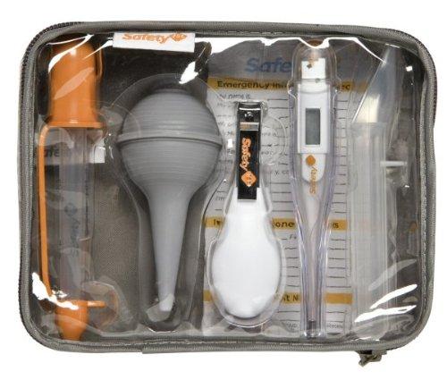Safety 1st 33110010 - Juego de artículos para la salud del bebé con estuche (6 piezas)