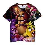HHNN Camiseta De Adulto para Niños De 2 A 13 Años Impresión En 3D Five Nights At Freddy'S Camiseta De Dibujos Animados Sudadera Casual para Niños - Ropa De Juego De Roles
