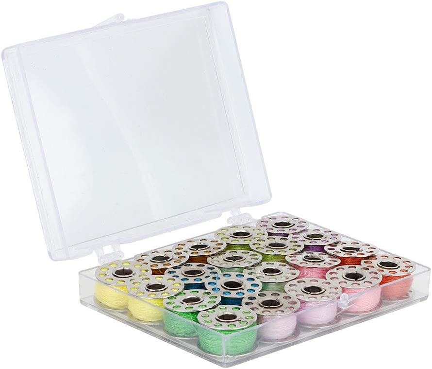 Arlington Mall OUKENS Bobbins 20Pcs and Sewing with Case for Special price a limited time Thread Se