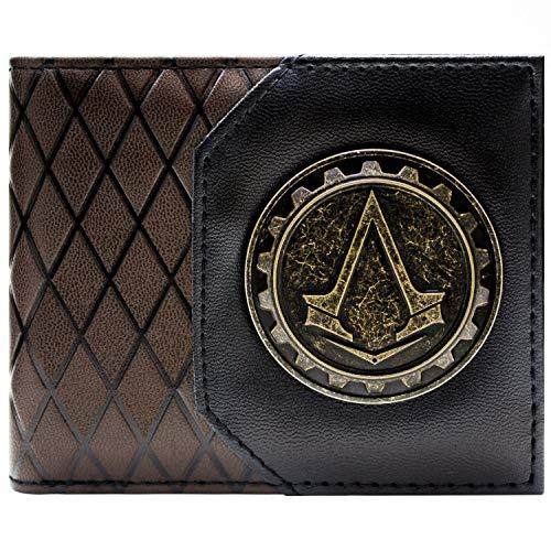 Ubisoft Assassins Creed Syndicate Cog Marron Portefeuille