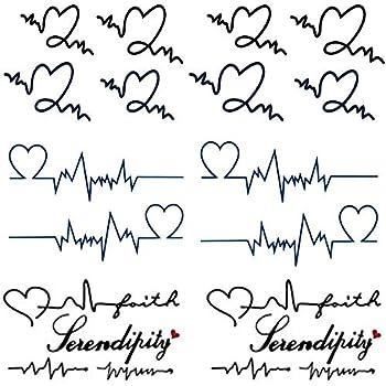 Best wave heartbeat tattoo Reviews