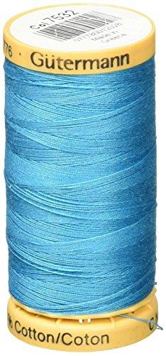 Gutermann Fil de Coton Naturel 273 Yards-Medium Bleu