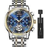 OLEVS Swiss Brand Men's Automatic Self-Wind Watch,Classic Fashion Dress Wrist Watch Men Automatic