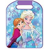 RAE Disney Frozen - Accesorios para el coche - Protectores de asiento delanteros - Cojines para cinturones - Elevador de ropa - Cortina lateral parasol (protector de asiento Frozen)