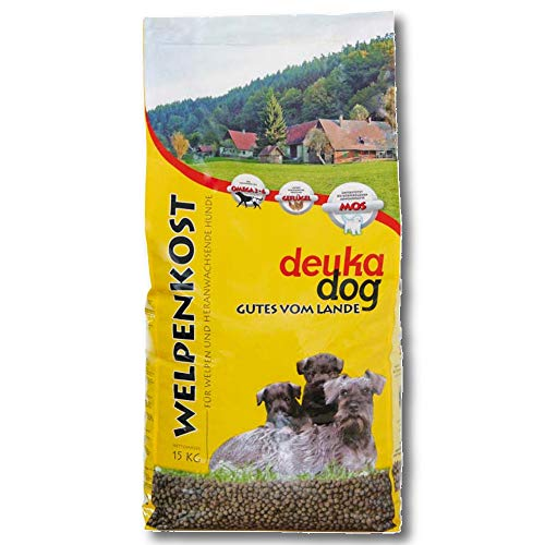 Deuka Dog Welpenkost 15 kg Hundefutter Welpenfutter Aufzucht Aufbaunahrung