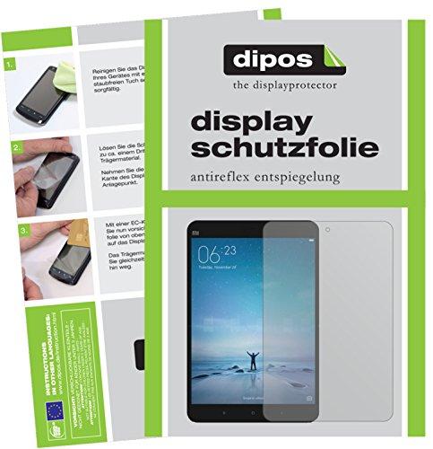 dipos I 2X Schutzfolie matt kompatibel mit Xiaomi Mi Pad 3 Folie Bildschirmschutzfolie