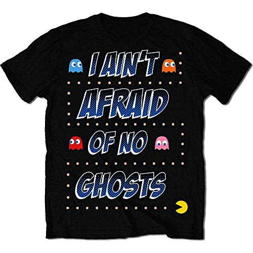 Men's Licensed I Ain't Afraid of No Ghosts T-shirt, S to XXL