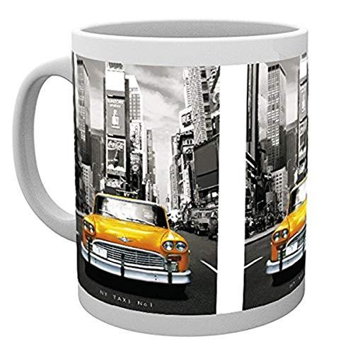GB Eye Limited New York Taxi No 1Becher, Mehrfarbig