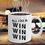 N\A Taza ganadora Regalo para los ganadores Taza ganadora Mejor Taza de felicitación Regalo Sorteo de premios Regalo Taza de café para Achiever 424 J