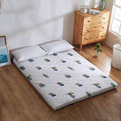 Plegable colchón for el viaje del sueño, tradicional japonesa dormir de la estera -Planta camas for Apartamento, Casa, Estudio volumen -Doble algodón acolchado, la estera de arrastre del bebé, alfombr