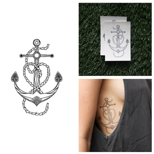 Anchor Tattoos Amazoncom