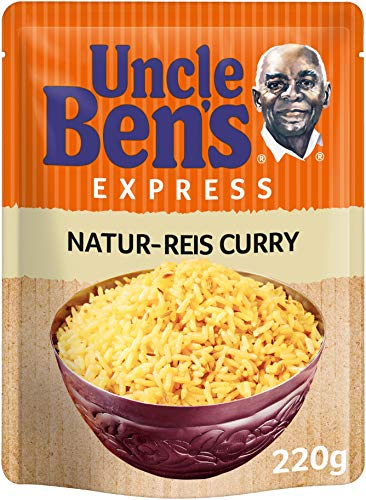 Uncle Ben's Express-Reis Naturreis Curry, 220g