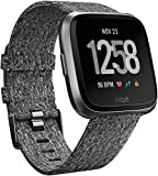 4+ day battery life, Operating temperature: -10° to 60°C ; Connect Fitbit Versa to wireless Bluetooth. Bluetooth 4.0V ; Charge time: 2 hours ; Battery type: Lithium-polymer ; Water resistant upto 50M Refer User Manual for Setup instructions and Troub...