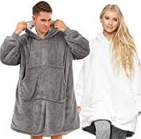 Lushforest Hoodie Sweatshirt Blanket, Oversized Super Soft Warm Comfortable Giant Hoody, Fit for Men Women Teens