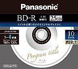 パナソニック ブルーレイディスク 日本製 録画用4倍速 25GB(単層 一回録画用) 30枚パック LM-BRS25LT30