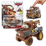 Disney Selección Mud Racing Edición Cars | Cast 1:55 Vehículos | Mattel, Cars 2017:Hook / Mater