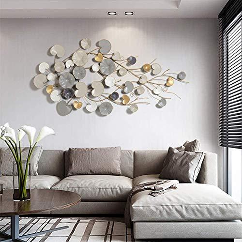 BTASS Pintura Decorativa Colgante En La Pared De La Sala De Estar, Fondo De Sofá, Arte Abstracto De Lujo Decoración del Lobby del Hotel