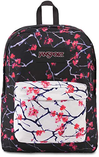 JanSport Black Label Superbreak Backpack - Sakura Delight Black