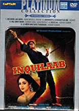Inquilaab (Brand New Single Disc Dvd, Hindi Language, With English Subtitles, Released By Captain Dvd)