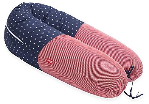 Scamp - Cojín universal para embarazo y lactancia, incluye funda en varios diseños OhioNew
