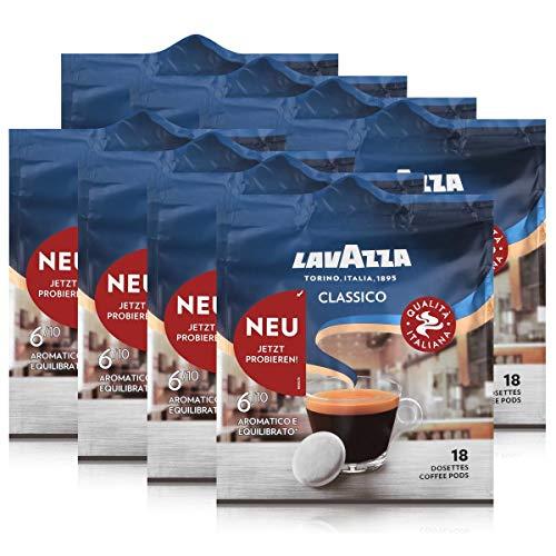 Lavazza Kaffeepads Classico 18 Pads - Für Kaffee-Padmaschinen 125g (8er Pack)