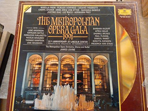 Laser Disc/CD AUDIO-The Metropolitan Opera Gala - 25th Anniversary at Lincoln Center - Metropolitan Opera Orrchestra - Rigoletto Act. III; Otello Act. III Die Fledermaus Act II-VERDI Giuseppe; STRAUSS Johann II 'figlio' (Austria)--DGG 0724281