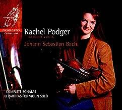 rachel podger bach sonatas and partitas