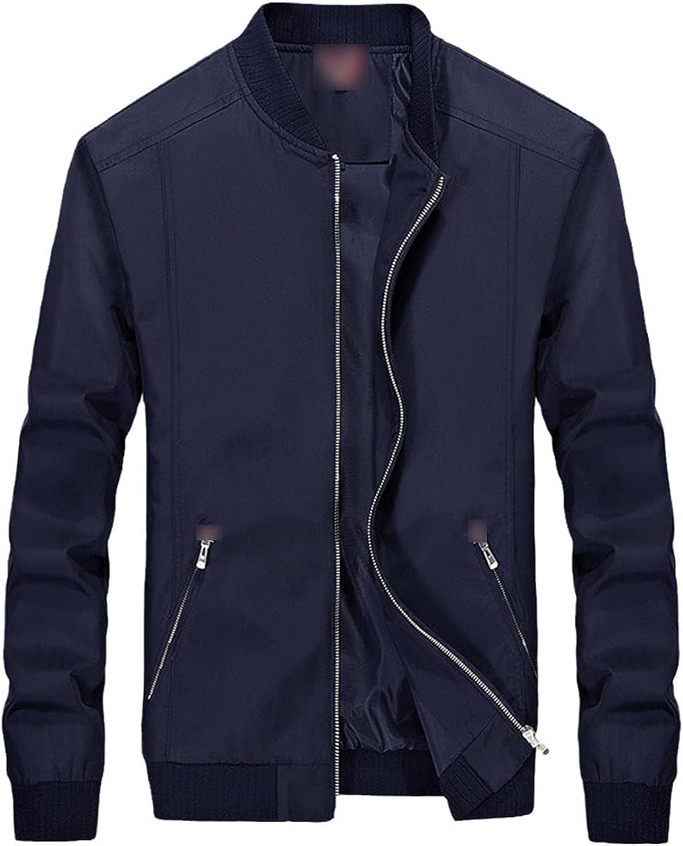 Men's Windbreaker Spring Slim Jacket Fashion Men's Autumn Casual Jacket
