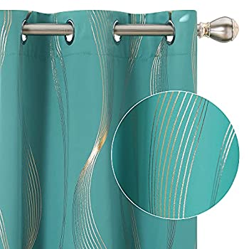 Best turquoise blackout curtains Reviews