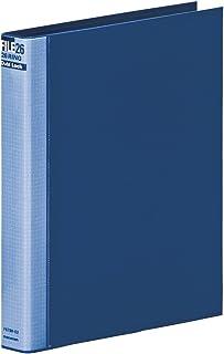 マルマン バインダー メタルバインダー ダブロック B5 26穴 ブルーF678R-02